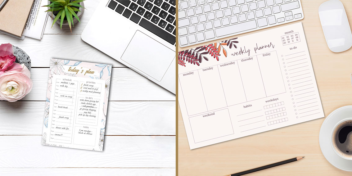 Our Planner series - Weekly Planner, Daily Planner and to do-list