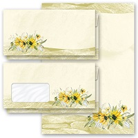 New motif: Yellow sunflowers