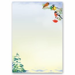 Motif Letter Paper WINTER TIME (Version A) 20 sheets DIN A4