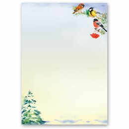 Motif Letter Paper WINTER TIME (Version A) 50 sheets DIN A5