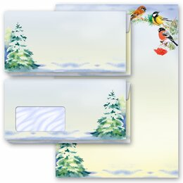 Motif Letter Paper-Set WINTER TIME (Version A)