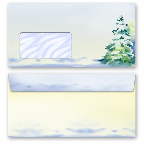 Motif Letter Paper-Set WINTER TIME