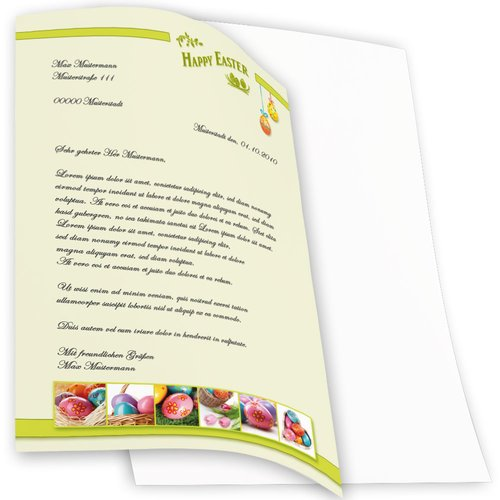 Briefpapier HAPPY EASTER - DIN A4 Format 250 Blatt