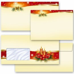 Motif envelopes! PEACEFUL CHRISTMAS