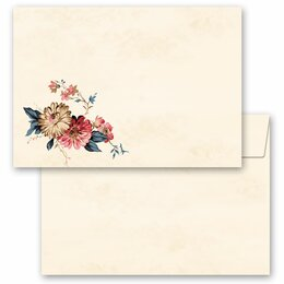 10 patterned envelopes FLOWER MAIL in C6 format (windowless)