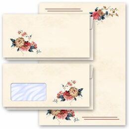 Briefpapier-Sets BLUMENPOST