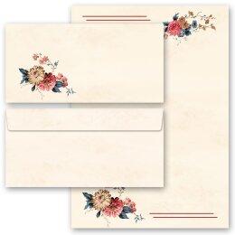 ohne Fenster DL Briefpapier-Set 20-tlg VINTAGE