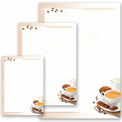 Motif Letter Paper! COFFEE WITH MILK Birthday