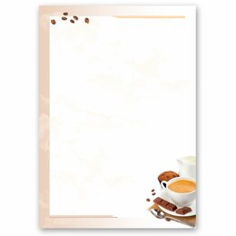 Motif Letter Paper! COFFEE WITH MILK 50 sheets DIN A5