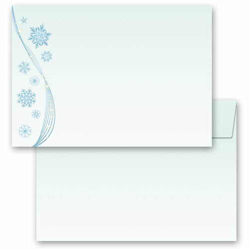 Motif envelopes! SNOWFLAKES Winter motif
