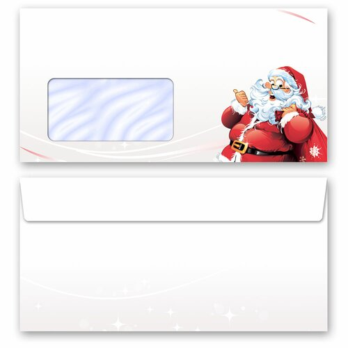 Motif envelopes! LETTER TO SANTA CLAUS Christmas envelopes