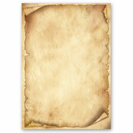 Motif Letter Paper! ANTIQUE 20 sheets DIN A4