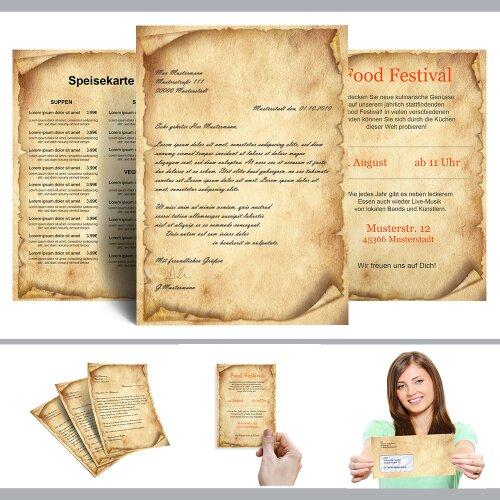 Briefpapier-Sets ANTIK