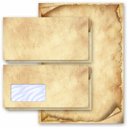 Motif Letter Paper-Sets ANTIQUE