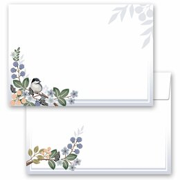 10 patterned envelopes SPRING BRANCHES  in C6 format...