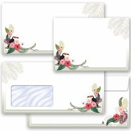 Motif envelopes! SUMMER BRANCHES Summer motif