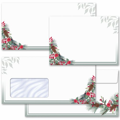 Motif envelopes! WINTER BRANCHES Winter motif