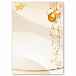 Motif Letter Paper! HAPPY HOLIDAYS 20 sheets DIN A4