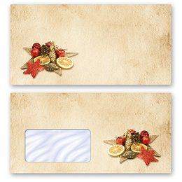 High-quality envelopes! OLD CHRISTMAS PAPER