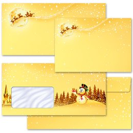 Motif envelopes! FESTIVE WISHES