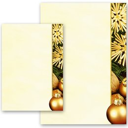 Motif Letter Paper! HAPPY CHRISTMAS