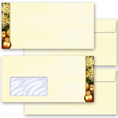 Motif envelopes! HAPPY CHRISTMAS