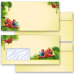 Motif envelopes! CHRISTMAS DECORATIONS