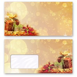 Motif envelopes! CHRISTMAS GIFTS
