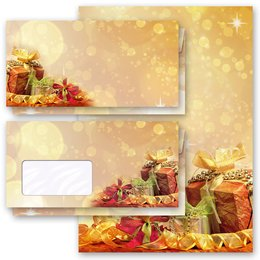 Motif Letter Paper-Sets CHRISTMAS GIFTS