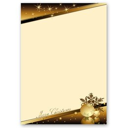 Motif Letter Paper! CHRISTMAS MAGIC 20 sheets DIN A4