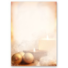 Motif Letter Paper! CHRISTMAS TIME 20 sheets DIN A4