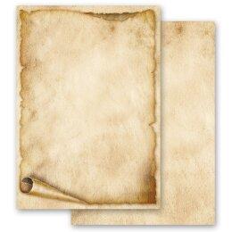 Briefpapier Motiv 100 Blatt DIN A4 BUNTE-OSTEREIER