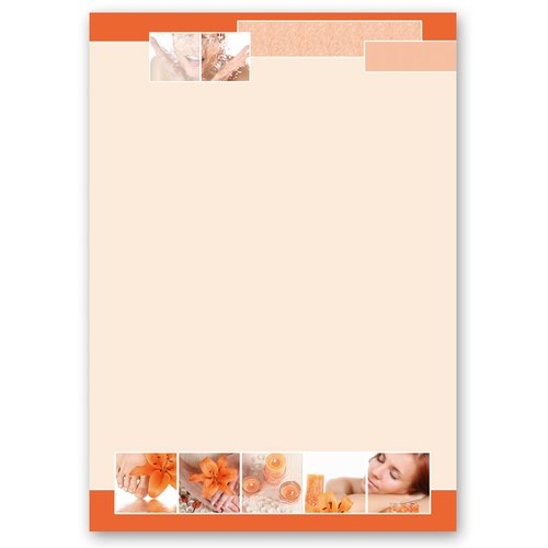 Motif Letter Paper! RELAXATION