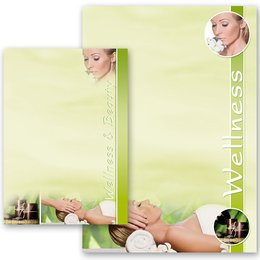 Briefpapier WELLNESS & BEAUTY