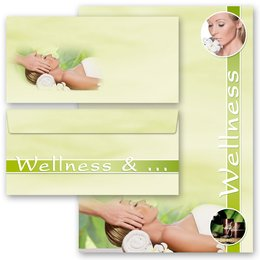Briefpapier Set WELLNESS & BEAUTY - 200-tlg. DL (ohne...