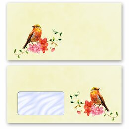 High-quality envelopes! BIRDS CHIRPING