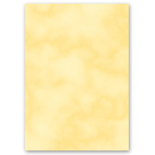 Motif Letter Paper! MARBLE YELLOW