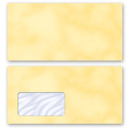 High-quality envelopes! MARBLE YELLOW