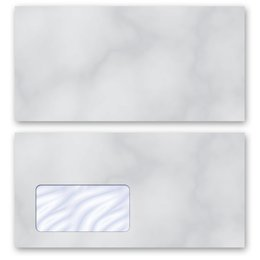 High-quality envelopes! MARBLE GREY