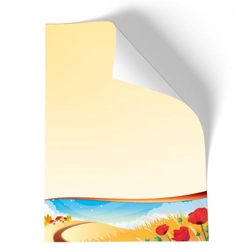 briefpapier vier jahreszeiten  herbst  din a4  100