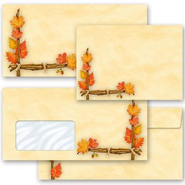 Motif envelopes! GOLDEN AUTUMN