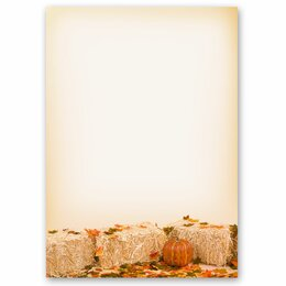 Motif Letter Paper! FALL FOLIAGE