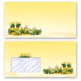 High-quality envelopes! EASTER GREETINGS