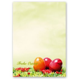 Motif Letter Paper! EASTER LAWN 20 sheets DIN A4