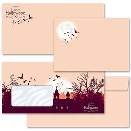 Motif envelopes! HAPPY HALLOWEEN Autumn motif