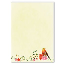 Notepads BIRDS CHIRPING | DIN A6 Format |  2 Blocks