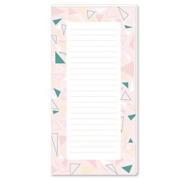 Notepads TRIANGLES | DIN LONG Format