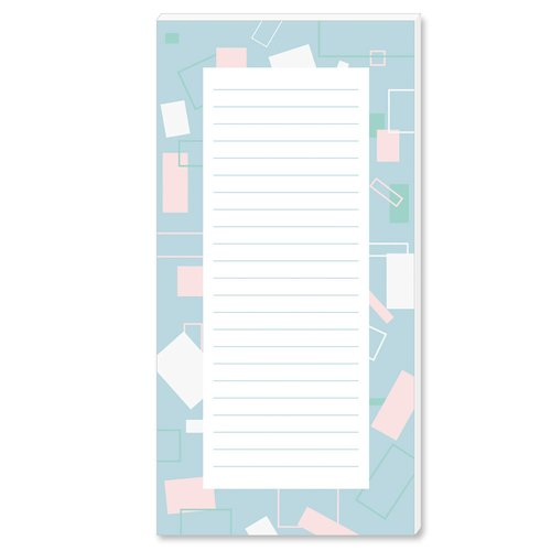 Notepads SQUARES | DIN LONG Format