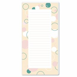 Notepads CIRCLES | DIN LONG Format