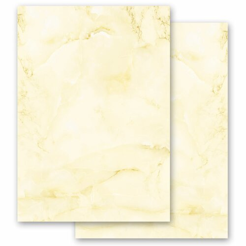 Motif Letter Paper! MARBLE LIGHT YELLOW